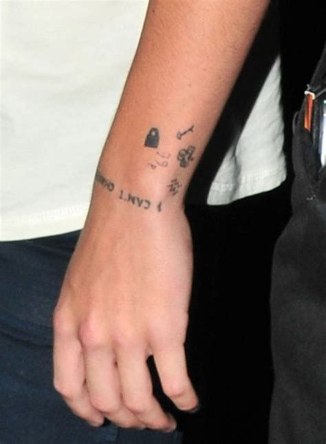 wrist tattoo direction 34 best one direction tattos images on one