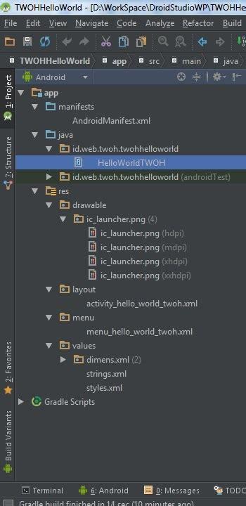 tutorial android studio dasar tutorial membuat aplikasi android menggunakan android