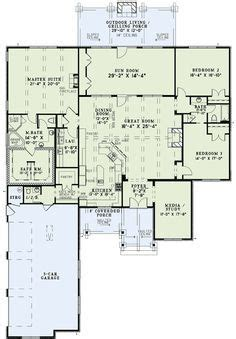 1000 Images About Floor Plans Ranch Split Bedroom On Yes Home Design