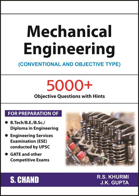 mechanical engineering conventional and objective type