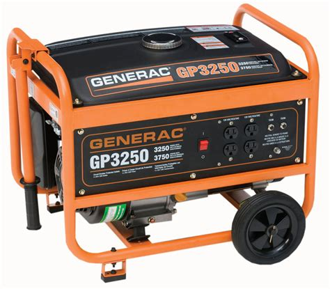 generac gp series portable generator free shipping