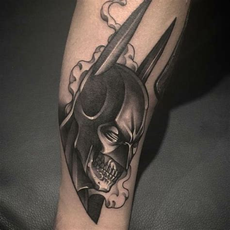 batman tattoo shading 33 cool batman tattoos ideas for male and female 2018