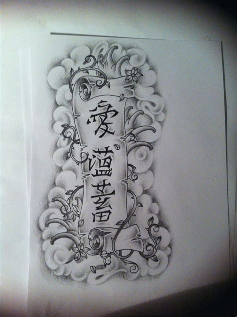 tattoo scroll scroll design by tattoosuzette on deviantart