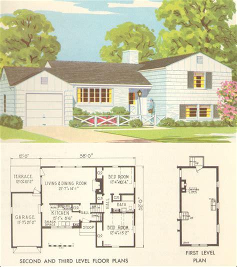 mid century house plans mid century floor plans