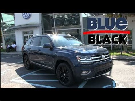 atlas volkswagen black 2018 vw atlas sel with 20 inch black wheels
