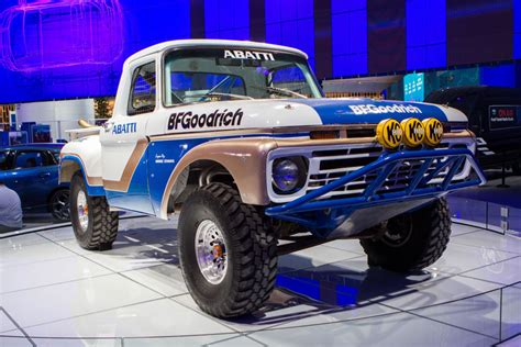 ford baja truck 1966 ford f 100 turned into epic baja racing truck 95 octane
