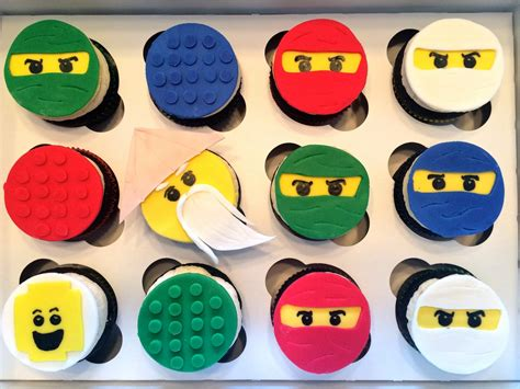 Decorate Home For Birthday Party much kneaded lego ninjago cupcakes