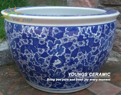 Large Ceramic Outdoor Planters Wholesale Large Chinease Ceramic Planter Garden Flower