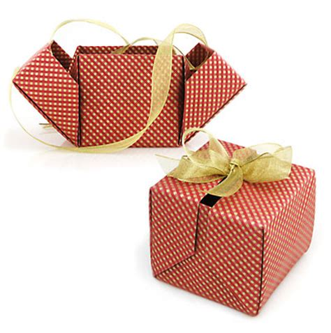 Fabric Origami Box - fabric origami projects