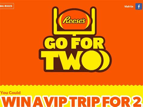 Stay Or Go Sweepstakes - reese s quot go for two quot sweepstakes