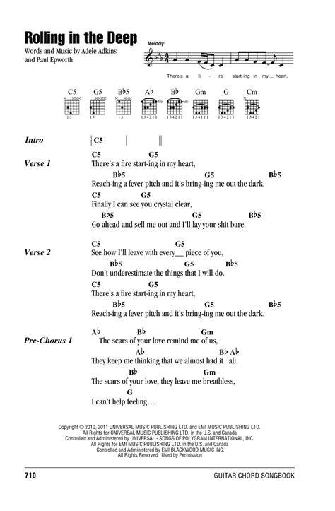testo adele skyfall rolling in the sheet by adele lyrics chords