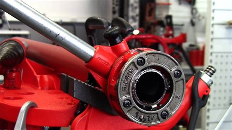 What Does A Pipe Cutter Look Like by Ridgid How To Cut Ream And Thread Pipe