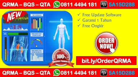 Agen Quantum Therapy Analyzer Qta promo hp wa 0811 4494 181 qrma harga quantum resonance