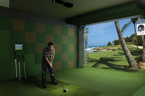 home theaters   golf room golf simulators home