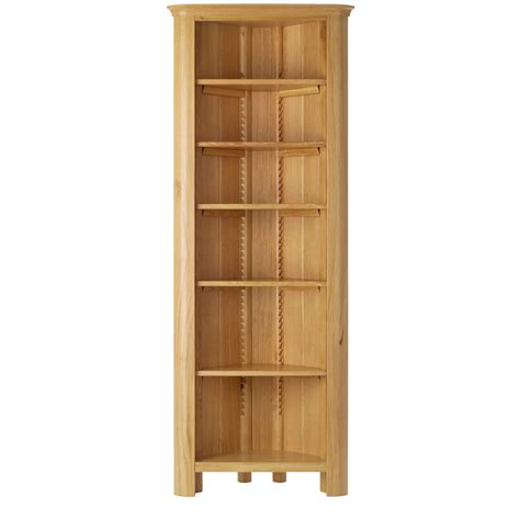 15 best collection of corner oak bookcase