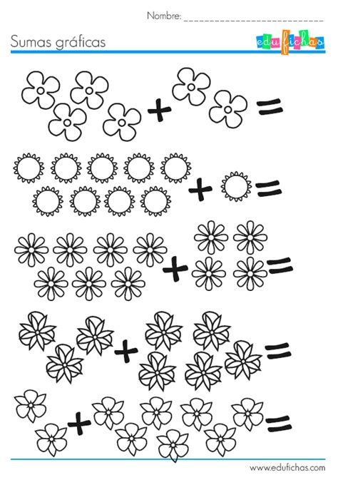 imagenes matematicas para niños preescolar fichas de matematicas para aprender a sumar http www
