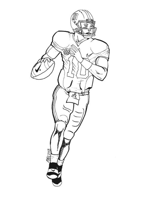 alabama football coloring pages az coloring pages