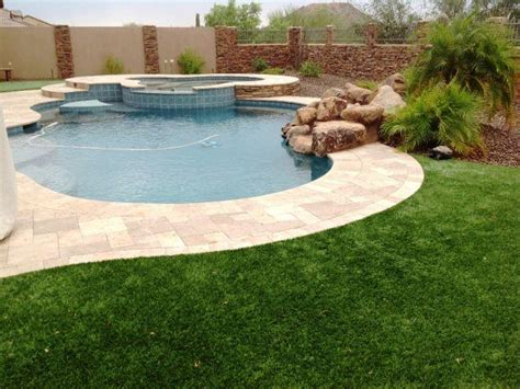Backyard With Pool Ideas Artificial Grass Gallery Home Project Ideas Amp Tips