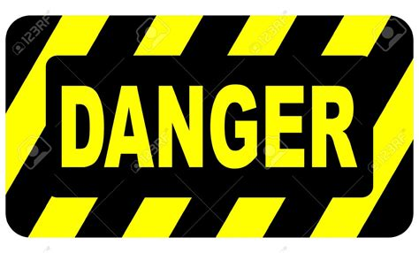 The Danger danger clipart blank pencil and in color danger clipart
