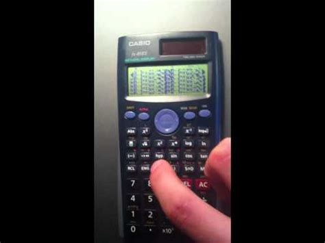 tutorial casio fx 9750gii upgrading a casio fx 9750gii calculator to natural display