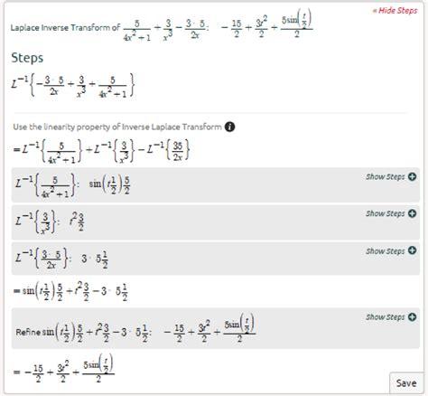 laplace transform table calculator symbolab advanced math solutions laplace