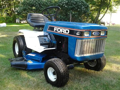 Ford Garden Tractor by Tiny Tractor Ford Lgt 120 Garden Tractor