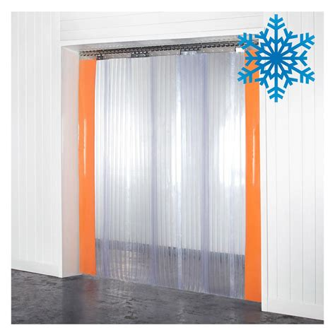 curtain strips thick double ribbed plastic strips for doorway curtains