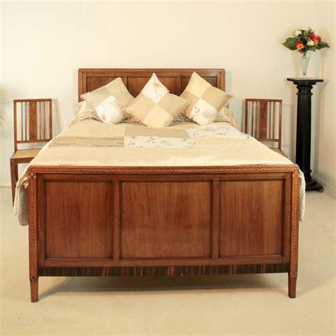 antique bedroom suites art deco walnut macassar marquetry bedroom suite