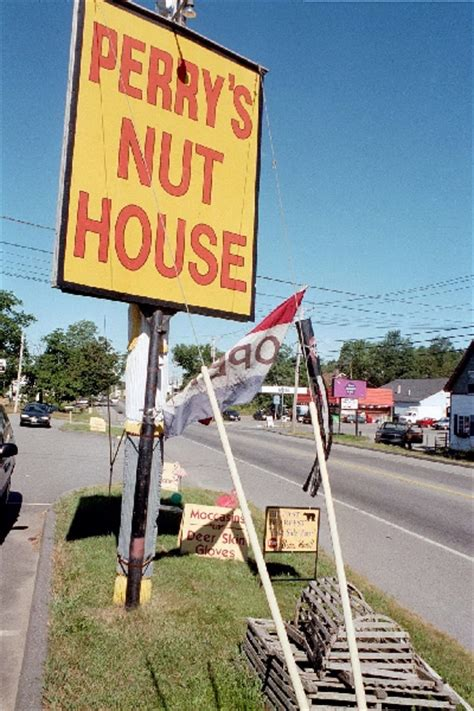 perrys nut house signs maine an encyclopedia