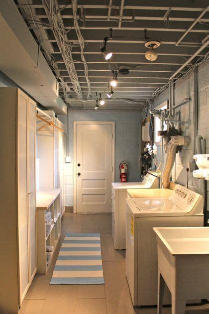 basement laundry room design ideas