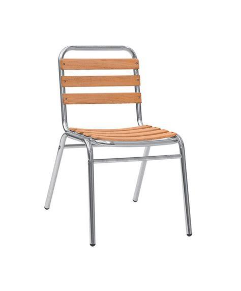 chaise aluminium exterieur chaises d ext 233 rieur structure m 233 tal le mobilier du pro