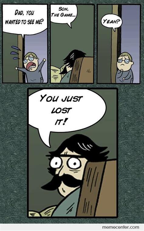 lost  game son  ben meme center