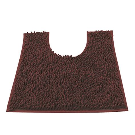 soft bathroom rugs vdomus contour bath rug soft shaggy u shaped toilet floor mat bathroom carpet 22 x 19 inch