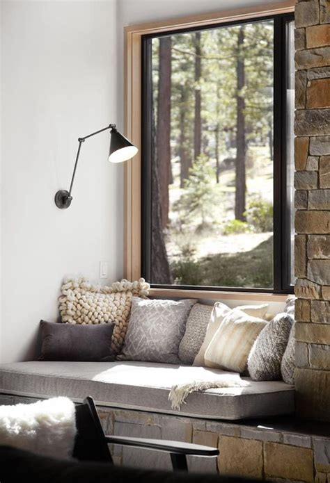 window reading bench 5 tips and 37 ideas to make your home cozier right now