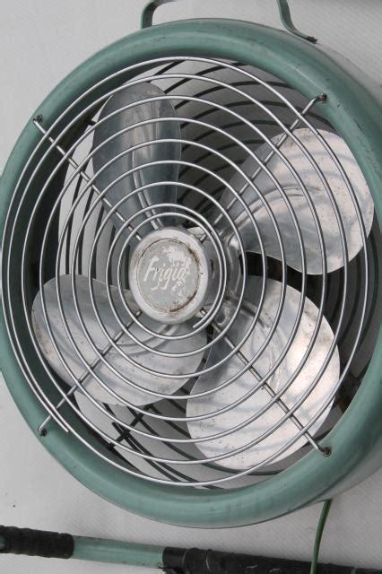 one stop fan shop vintage fridgid electric fan mid century modern retro