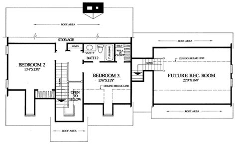 cape cod 2nd floor plans house plan 86102 at familyhomeplans