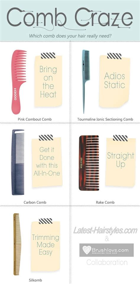 Types Of Hair Combs by