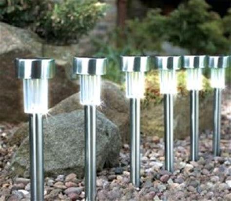 le led solaire jardin le led solaire de jardin acier 33 5cm destockage grossiste