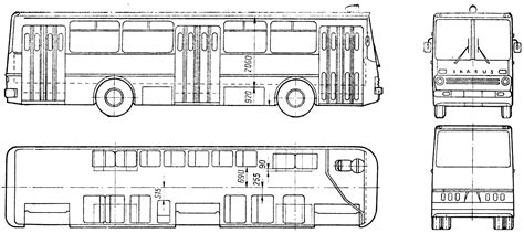 Blueprint Photo Paper 260 car blueprints 1972 ikarus 260 blueprint