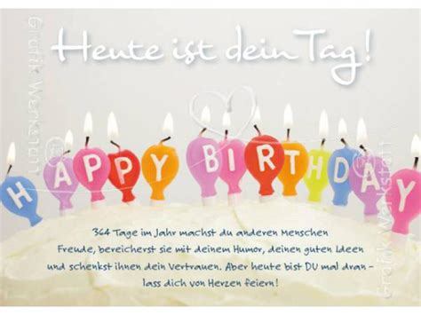 Grafik Werkstatt Geburtstag by Postkarte Heute Ist Dein Ta Grafik Werkstatt Postkarte