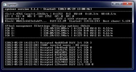 Alat Mining Bitcoin Software Bitcoin Miner