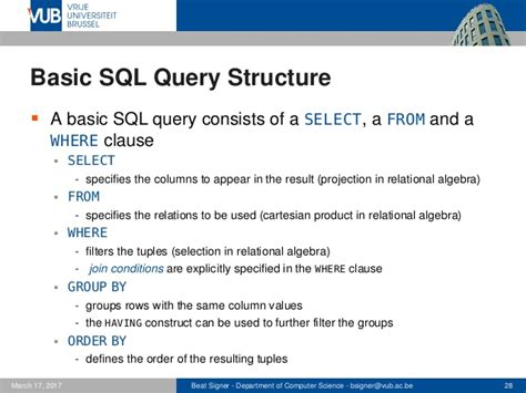 sql query basics tutorial structured query language sql lecture 5 introduction