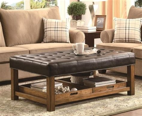 padded top coffee table 25 best ideas about coffee table storage on