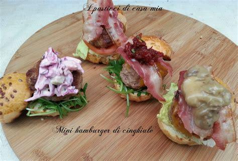 di burker mini hamburger di cinghiale 4 ricette dall anglosassone al