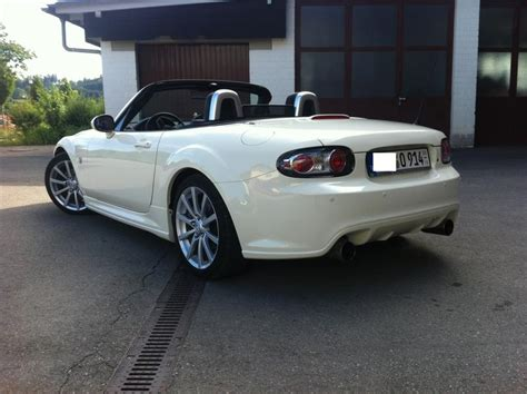 black mazda mx5 mx5 black white edition