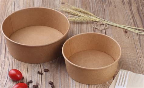 Food Grade Brown Kraft Paper Bowl Lid Paper Bowl Coklat 8oz 240ml 1100ml environmental friendly kraft brown color salad paper bowls with lids buy paper bowl