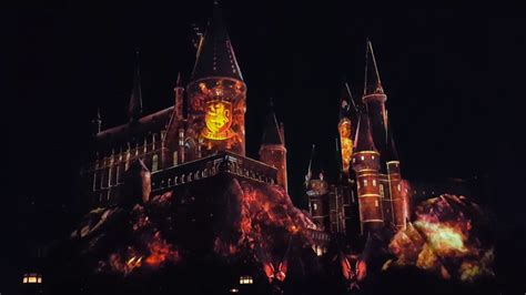 Harry Potter Light Show Universal Studios Hollywood