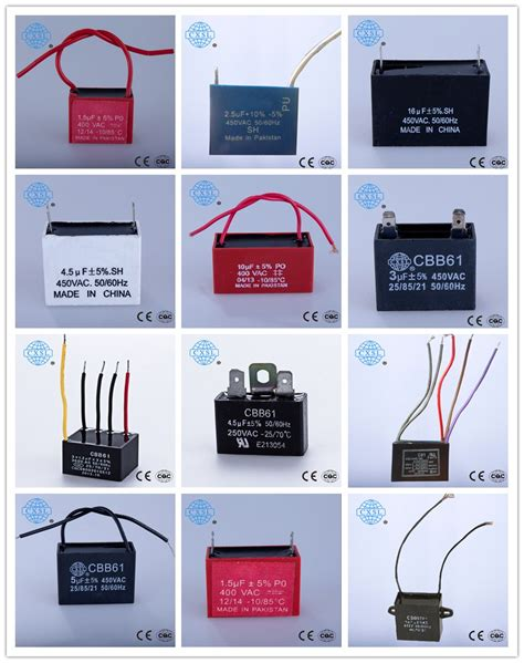 cbb61 fan capacitor wiring diagram ceiling fan wiring diagram capacitor cbb61 motor starting capacitor from tongling chengxin