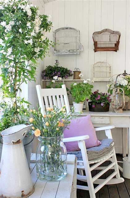 shabby chic decorating ideas for porches and gardens hgtv 16 shabby chic garden designs with interior furniture