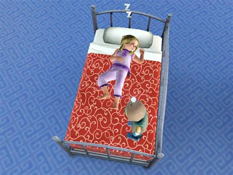 sims 3 toddler bed daybed for your toddlers sims3 sims 3 cc custom